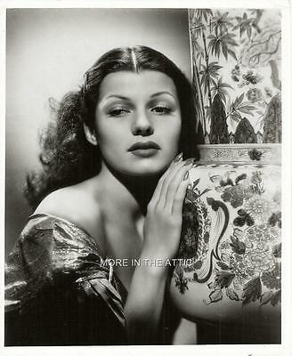 Ravishing Radiant Rita Hayworth Hollywood Portrait Still #42