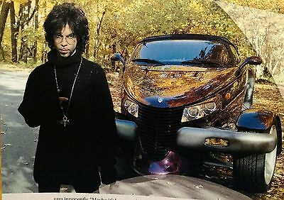 Prince Pictures & Article! Rare Pulse Magazine Feb 2000 Exclusive!  Near Mint!