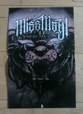 Miss May I - Rise of the Lion - Poster