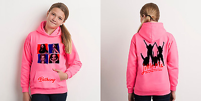 Little mix 2017 Glory days tour personalized florescent pink hoodie