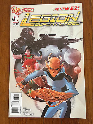 Legion of Super-Heroes #1-5 (2011, DC) - The New 52; first print