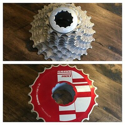 SRAM Red OG-1090 11-25 Cassette OpenGlide 10-Speed 10s Forged 11t 25t