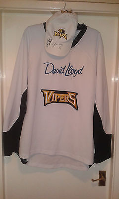 Ice Hockey Training Shirt - Andrew Verner #29 Newcastle Vipers