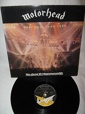 Motorhead-No Sleep Till Hammersmith LP 1981 Great Album BARGAIN