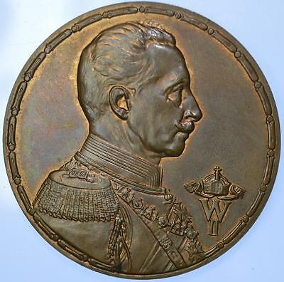 Germany - Wilhelm II 1916 Olympics Bronze medal Trial lustrous high grade
