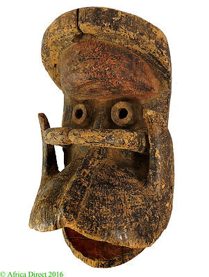 Dan Guere Mask with Beard African Art