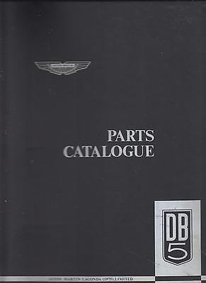 Aston Martin Db5 Coupe Original Factory Spare Parts Catalogue