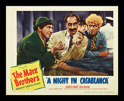 "Original ""Night in Casablanca"" Lobby Card...Best in Set!!!!!"