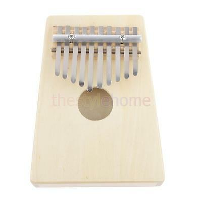 Best Quality Vintage White 10 Notes Thumb Piano Easy to Build Fun to Play