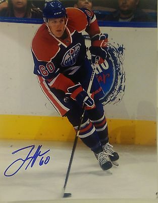 Tanner House Edmonton Oilers NHL signed 8x10