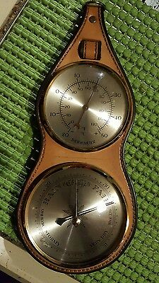 Vintage Barometer,Thermometer  Made In Germany