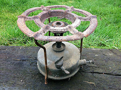 Old Vintage Brass cooking camping Primus Stove