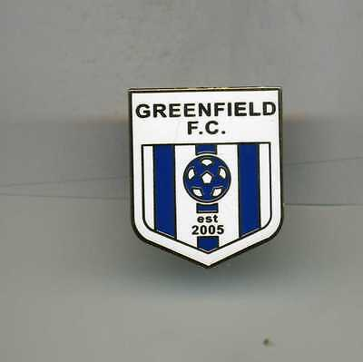 Greenfield  Fc  Welsh  Non League  Football Pin Badge