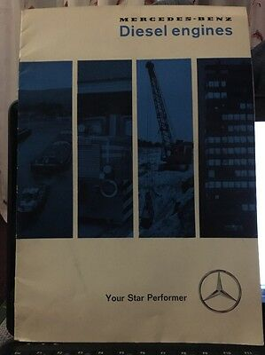 Mercedes Benz diesel engines Your Star Performer Brochure M4029