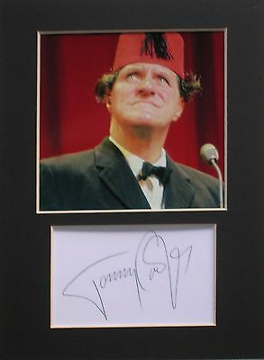 Tommy Cooper signed mounted autograph 8x6 photo print display #G2