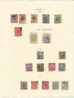 Brazil. Five Sheets Of Mint And Used Stamps
