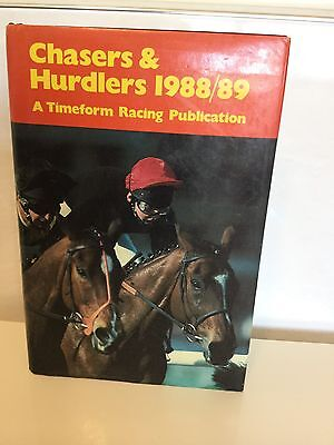 Chasers & Hurdlers 1988/89. A Timeform Racing Publication Book.