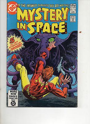 Mystery In Space 115 Very Fine 1981 Dc Bronze Age Comic