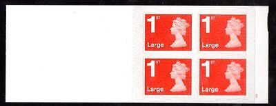 GB Stamp Booklet - 2016 4 x 1st Large (M16L)