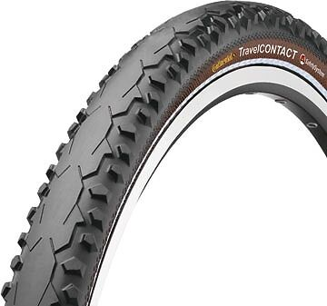 Continental Travel Contact Folding Bike Tyre 26 x 1.75, Touring, mountain, road