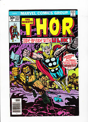 The Mighty Thor #253 - White Pages NM-