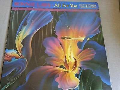 """Ronnie Laws - all for you - 12"""" single in picture cover"""