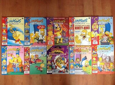 THE SIMPSONS COMICS Issues: 96-105