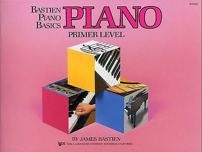 Bastien Piano Basics: Primer, Book 1, Book 2 & Book 3 Available