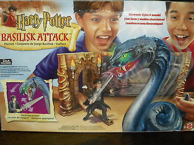 Harry Potter Basilisk Attack Sealed Box