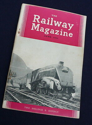 The Railway Magazine - June 1955 - The Flying Scotsman on cover