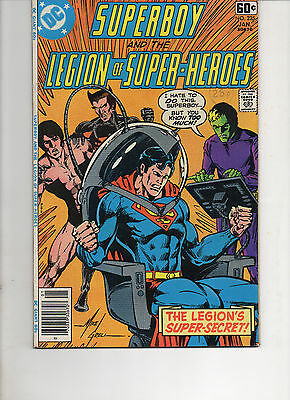 Superboy And The Legion Of Super-Heroes 235 Very Fine 1978 Dc Bronze Age Comic