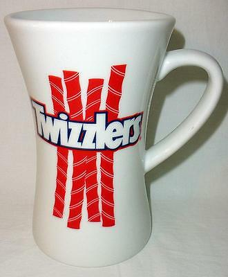 Large Hershey Foods Twizzlers Licorice Holder Coffee Mug Tall Hourglass Shape