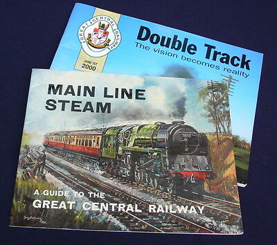 2 x Great Central Railway brochures books – 1978 &  2000