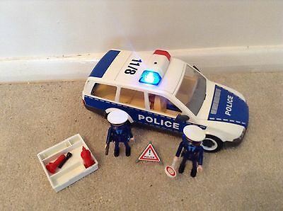 Playmobil Police Car and Accessories