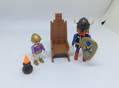 Playmobil Viking with Throne Special