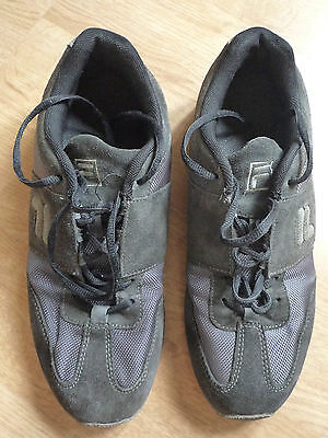 Fila Casual black shoes - size 8