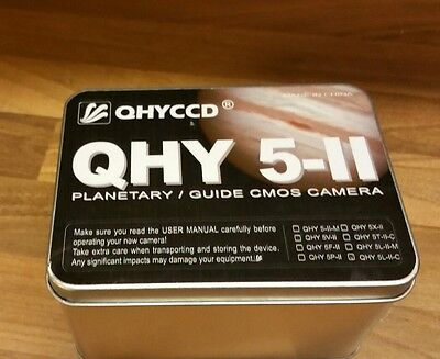 QHY5-II-C Colour one shot Astro Imaging Camera with ST4 (Autoguider)