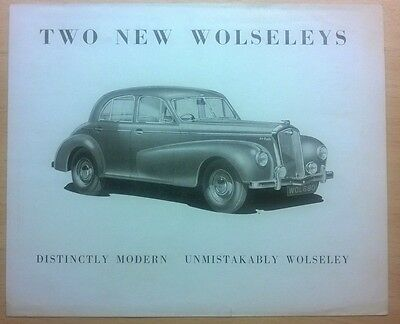 Wolseley 4/50 6/80 Four Fifty & Six Eighty Original Super Rare Sales Brochure