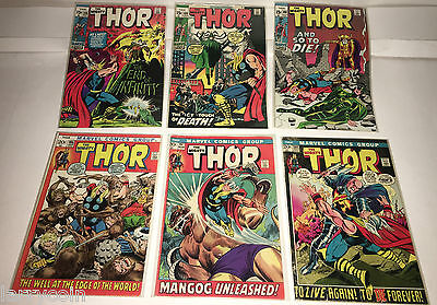 The Almighty Thor 15¢ # 188 189 190   & 20¢ # 195  197 201 Comic    ***428