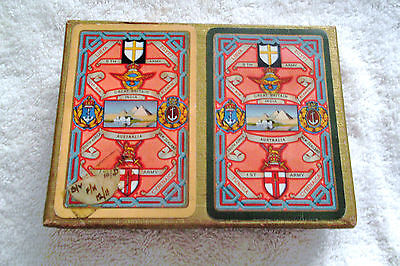"""WORLD WAR 2  """" WADDINGTONS """"  1st ARMY / 8th ARMY SEALED PLAYING CARDS"""