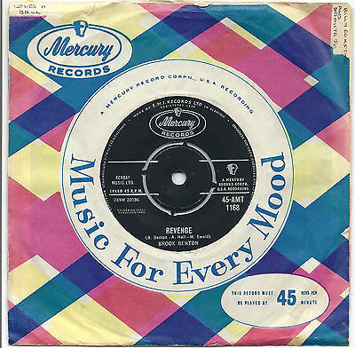 Brook Benton - Mercury AMT1168 - Revenge/Really, Really - Ex