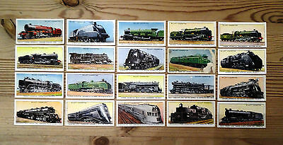 Wills cigarette cards Part Set 20/50 'Railway Engines'