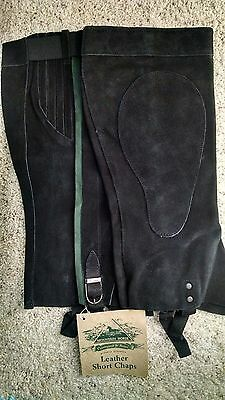 Mountain Horse Short Leather Riding Chaps