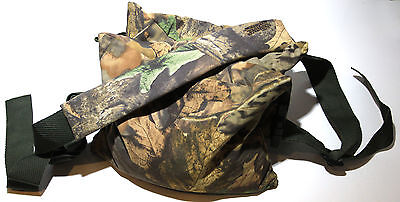 Double Camera Bean Bag with strap: Camouflaged