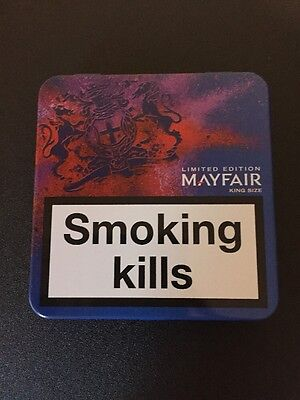 Limited Edition Mayfair King Size Blue Cigarette Tin Festival