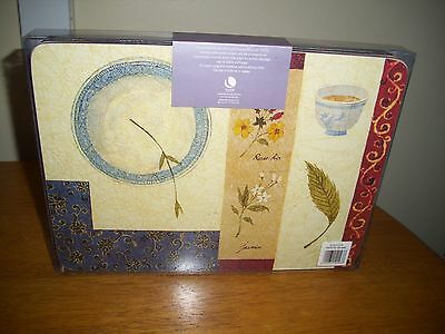 New Set of 6 Quality Placemats by Lifestyle Collection unopened