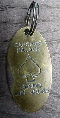 CAESAR'S PALACE CASINO LAS VEGAS Nevada Brass Key Tag