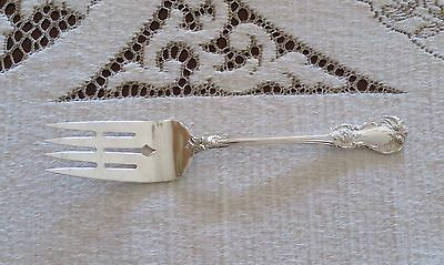 """Old Master Sterling Silver Cold Meat Serving Fork by Towle 8 1/4""""  ~ No Mono"""