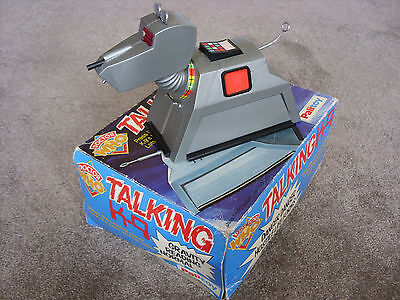 'Doctor Who' - TALKING K9 toy - 1978 - BOXED - PALITOY - Vintage - RARE