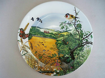 'the Village In The Valley' Colin Newman Wedgwood 1987 Plate No 4202B Unboxed